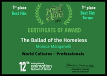 Certificate_Anim!Arte_The Ballad of the Homelless