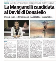 Gazzetta di parma- David Donatello