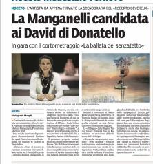 Gazzetta di parma- David Donatello